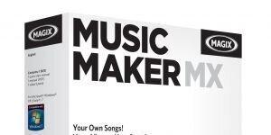 MAGIX Music Maker MX Ekran G�r�nt�s�
