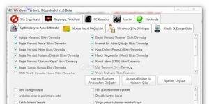 Windows Yardımcı Düzenleyici Ekran Görüntüsü