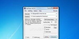 FastCopy Ekran G�r�nt�s�