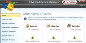 Advanced System Optimizer Ekran G�r�nt�s�