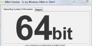 64bit Checker Ekran Görüntüsü