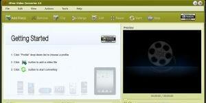 4Free Video Converter  Ekran Görüntüsü