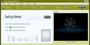 4Free Video Converter  Ekran G�r�nt�s�