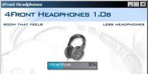 4Front Headphones Plugin Ekran Görüntüsü