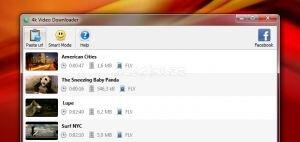 4K Video Downloader Ekran Görüntüsü