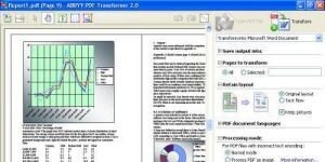 ABBYY PDF Transformer+ Ekran G�r�nt�s�