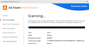 Ad-Aware Free Antivirus+ Ekran Görüntüsü