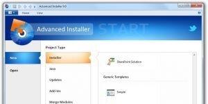 Advanced Installer Ekran Görüntüsü