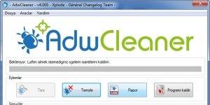 AdwCleaner Ekran G�r�nt�s�