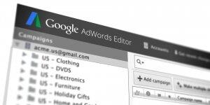 AdWords Editör Ekran Görüntüsü