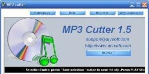 AIV MP3 cutter Ekran G�r�nt�s�
