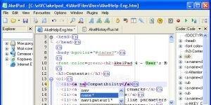 AkelPad Ekran Görüntüsü