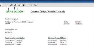 Akra Kalite Yönetim Sistemi Yazılımı Ekran Görüntüsü