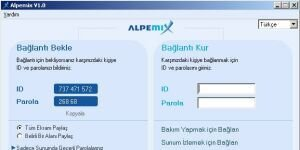 Alpemix Ekran Grnts