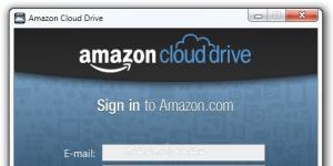 Amazon Cloud Drive Ekran Görüntüsü