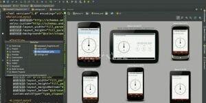Android Studio Ekran Görüntüsü