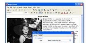 Angel Writer Ekran G�r�nt�s�