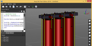 AnyCAD Part Editor Ekran G�r�nt�s�