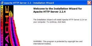 Apache HTTP Server Ekran G�r�nt�s�