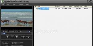 Apple Video Converter Factory Ekran G�r�nt�s�