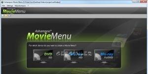 Ashampoo Movie Menu Ekran Görüntüsü