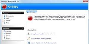 Ashampoo WinOptimizer Free Ekran Görüntüsü