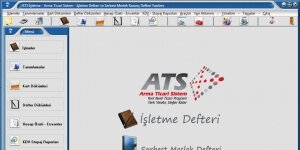 ATS İşletme ve Serbest Meslek Defteri Ekran Görüntüsü