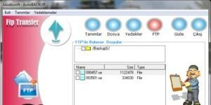 Akudosoft AutoBackup Ekran Görüntüsü