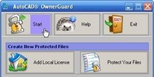 AutoCAD OwnerGuard Ekran Görüntüsü