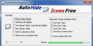 AutoHideDesktopIcons Ekran Görüntüsü