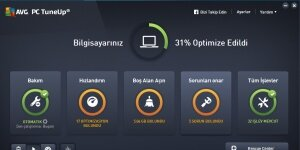 AVG Performance PC Tuneup Ekran G�r�nt�s�