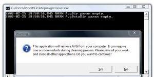 AVG Remover Ekran G�r�nt�s�