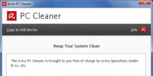 Avira PC Cleaner Ekran G�r�nt�s�
