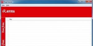 Avira RegistryCleaner Ekran Görüntüsü