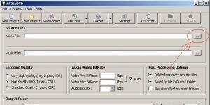AVStoDVD Ekran Görüntüsü