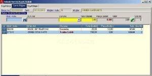 AXOFT Teknik Servis Takip Program� Ekran G�r�nt�s�