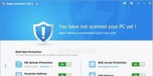 Baidu Antivirus Ekran G�r�nt�s�