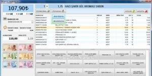 Barkodlu Perakende Satış Programı Ekran Görüntüsü