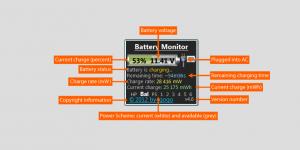 Battery Monitor Ekran Görüntüsü