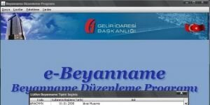 Beyanname Dzenleme Program Ekran Grnts