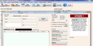 Bilsoft �cretsiz Cari Hesap Program�-Veresiye Takip Program� Ekran G�r�nt�s�