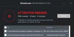 Bitdefender Adware Removal Tool Ekran Görüntüsü
