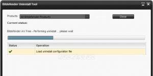 Bitdefender Uninstall Tool Ekran Görüntüsü