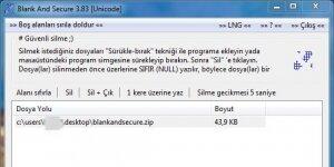 Blank And Secure Ekran Görüntüsü