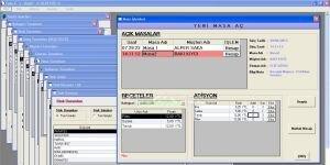 Cafe-X Restaurant Cafe Bar Yönetim Ekran Görüntüsü