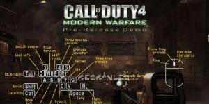Call of Duty 4: Modern Warfare Demo Ekran G�r�nt�s�