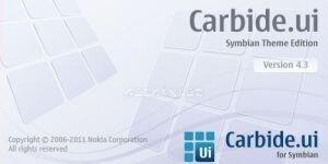 Carbide.ui Symbian Theme Edition Ekran Görüntüsü