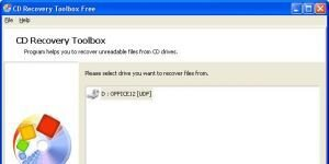 CD Recovery Toolbox Ekran Görüntüsü