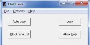 Child Lock Ekran Görüntüsü