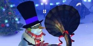 Christmas 3D Screensaver Ekran G�r�nt�s�